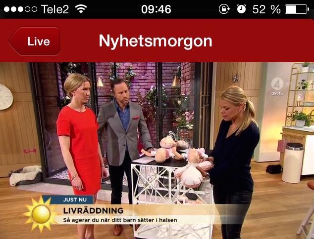 Life in Mind på Nyhetsmorgon,TV4