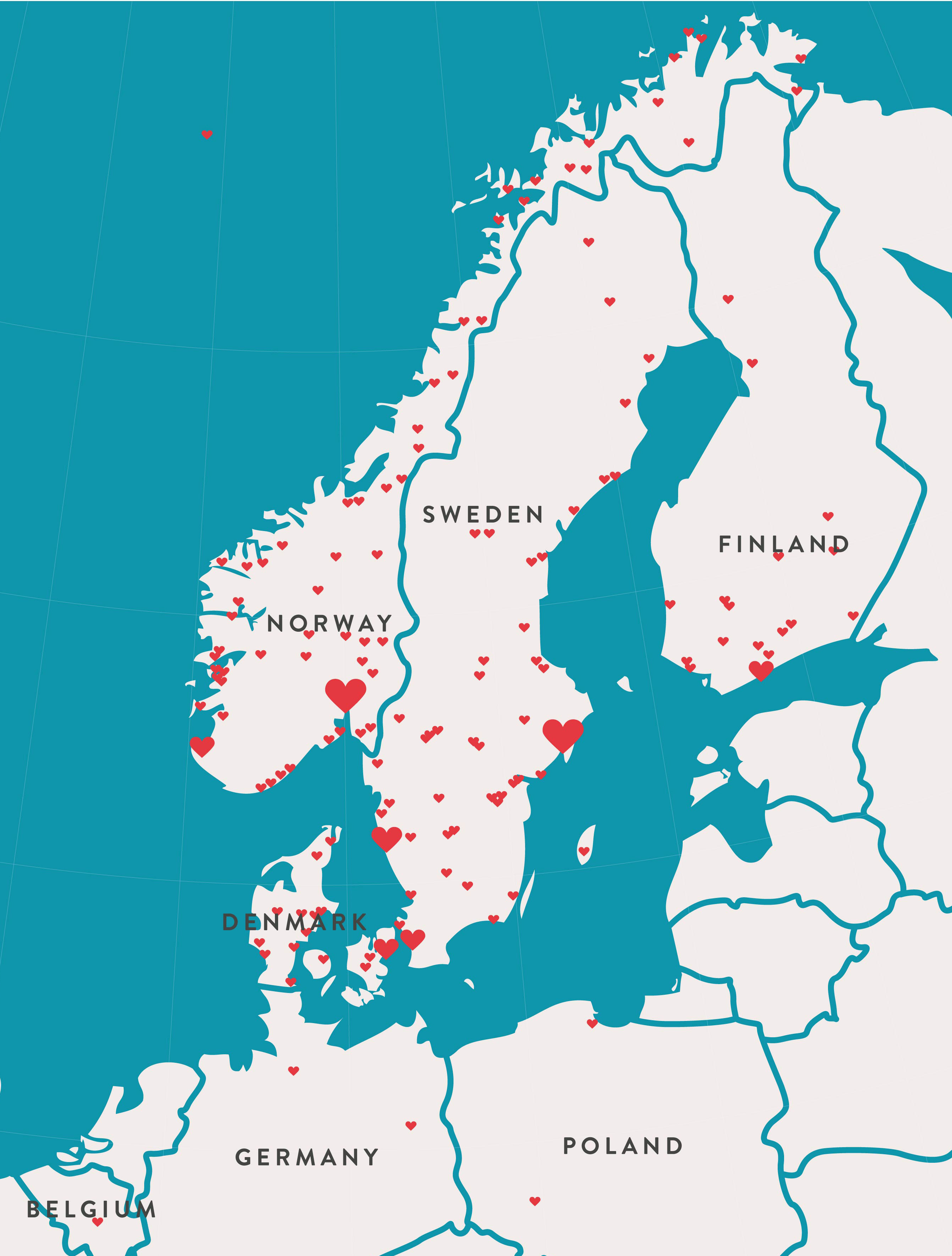 scandic göteborg karta Life In Mind | Vi åker på turné med Scandic scandic göteborg karta