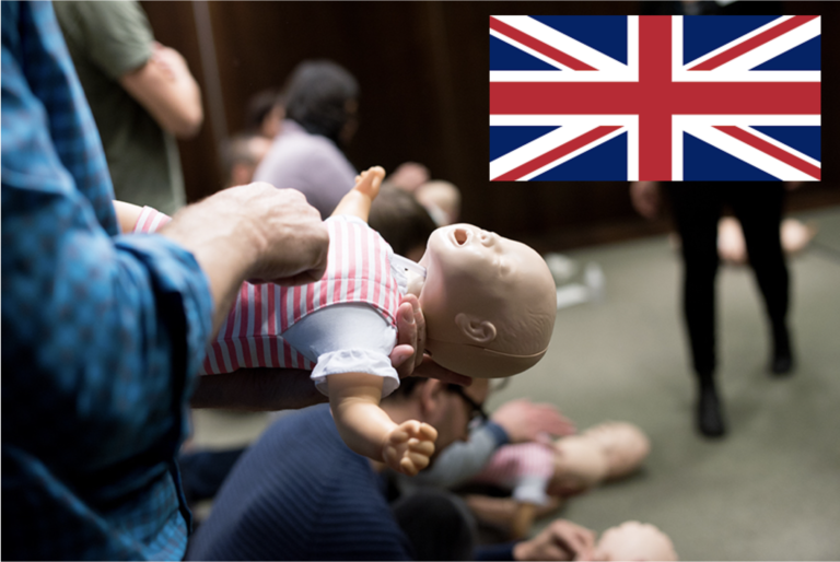 Life in Mind Course in English CPR first aid children Stockholm